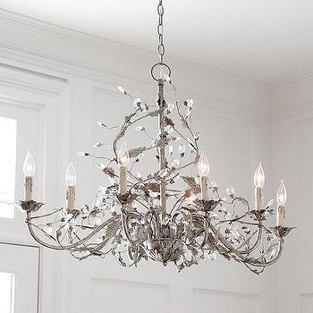 Claire 8 Light Oval Chandelier