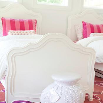 Shared Girls Bedroom Design, Contemporary, Girl's Room