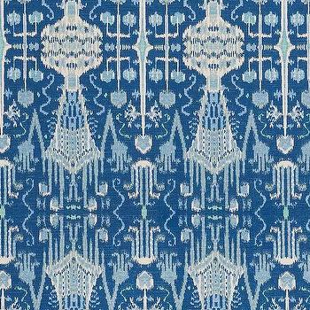 Bombay Cobalt Cotton, Printed Fabric