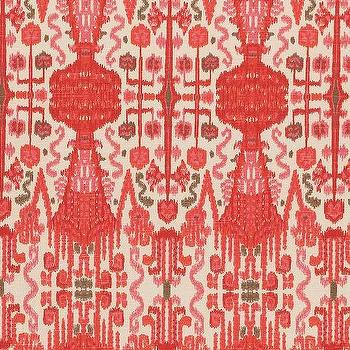 Bombay Geranium Cotton, Printed Fabric
