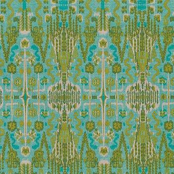 Bombay Aqua, Printed Fabric