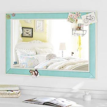 Pop Color Pinboard Mirror