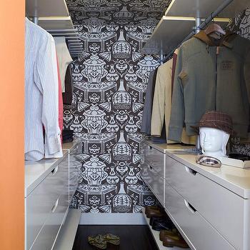 Ikea Closet System, Contemporary, Closet