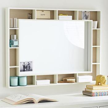 Pinboard Display Mirror