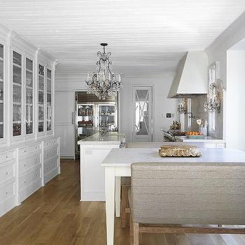 French Kitchen with Built in Hutch, French, Kitchen