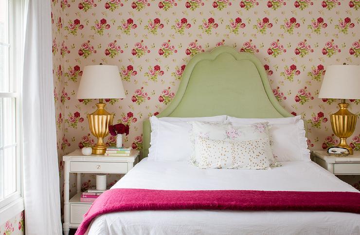 green and pink cottage bedrooms cottage bedroom. Black Bedroom Furniture Sets. Home Design Ideas