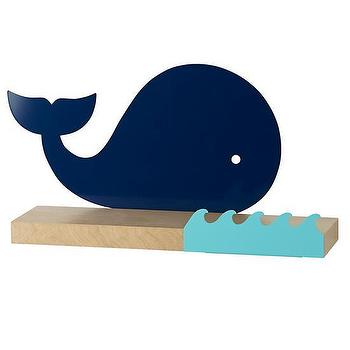 Whale Away Wall Shelf