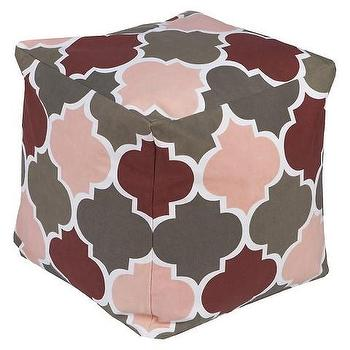 Playhouse Dark Grey Pouf
