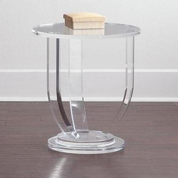 Bayberry Acrylic Side Table