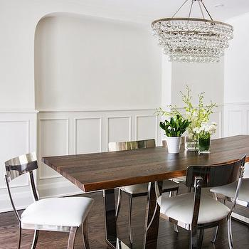 Trim Molding Wainscoting, Transitional, Dining Room