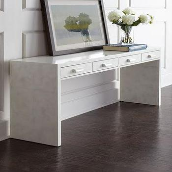 Dion White Beechwood Console