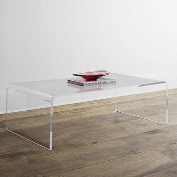 Crystalline Acrylic Coffee Table