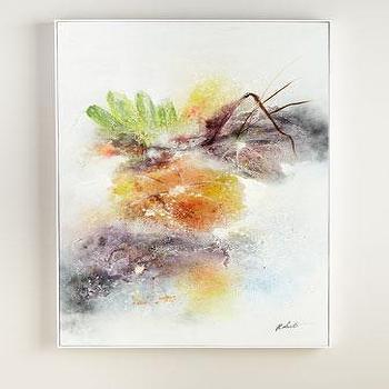 John Richard Collection Midsummer Oil Abstract Painting