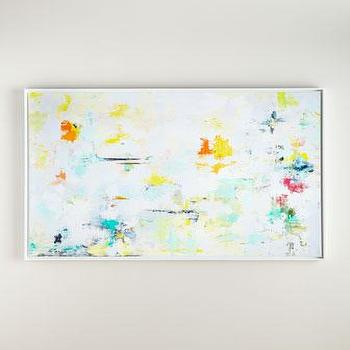 RFA Fine Art Sweet Water Giclee Abstract Painting