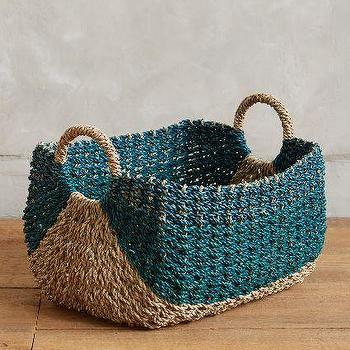 Samal Tan Green Seagrass Basket