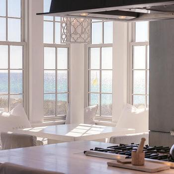Kitchen with Built in Banquette, Cottage, Kitchen