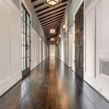 Long Hallway with Lanterns, Transitional, Entrance/foyer