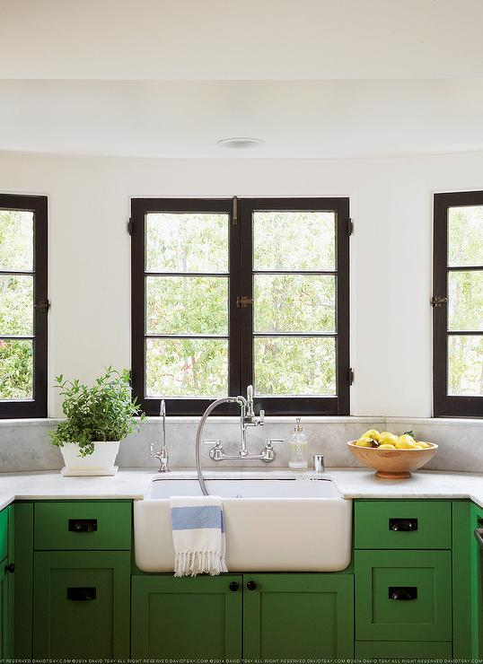 Green Kitchen Cabinets  Green Cabinets For Kitchen - Green kitchen cabinets