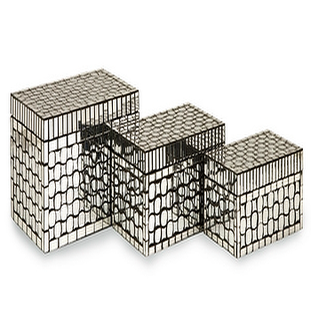 Toley Mirror Mosaic Boxes