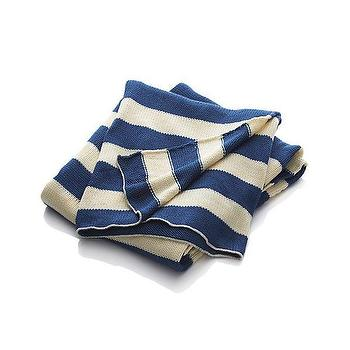 Olin Stripe Blue Throw