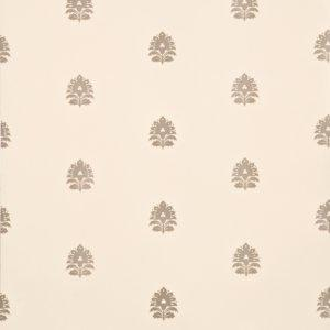 Hestercombe Sprig Linen/Silver Wallpaper