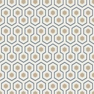 Hicks Hexagon Pattern Wallpaper
