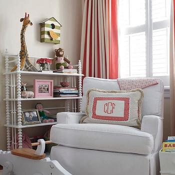 Nursery with Jenny Lind Bookcase, Transitional, Nursery