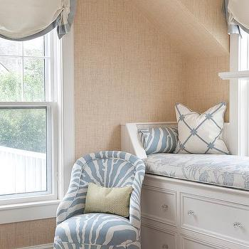 Attic Window Seat, Transitional, Bedroom