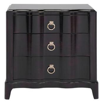 Addison Three Drawer Nightstand