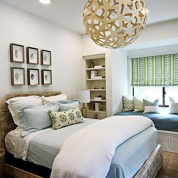 Blue and Green Boys Bedrooms, Contemporary, Boy's Room