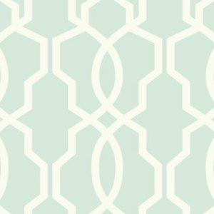 Ashford House Green Hourglass Trellis Wallpaper