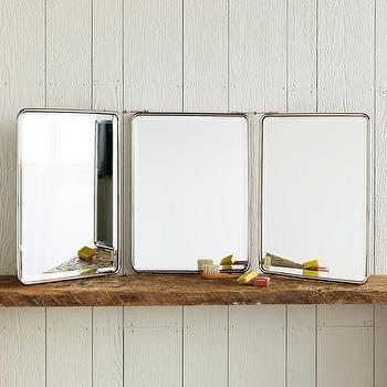 Three Panel Trinity Mirrors