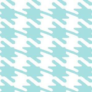 York Jackie Sky Blue and White Patterned Wallpaper