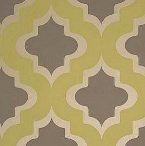 Clarke and  Clarke Kasbah Citrus Wallpaper