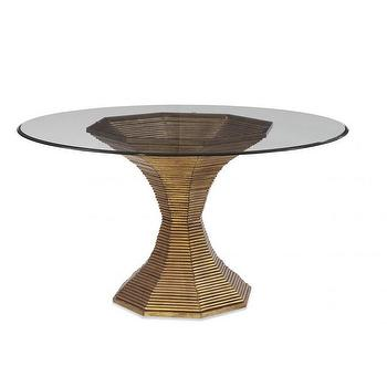 Evalyn Gold Dining Table