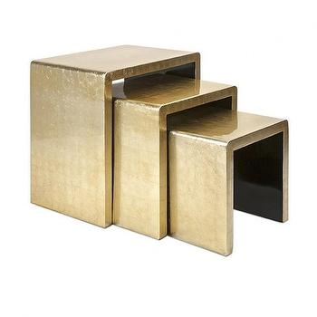 Helen Gold Nesting Tables