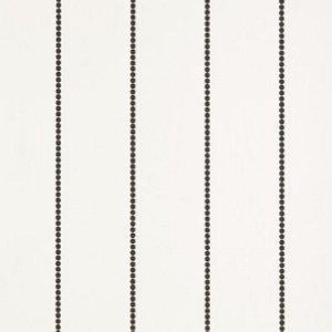 Schumacher Gabrielle Stripe Graphite Wallpaper