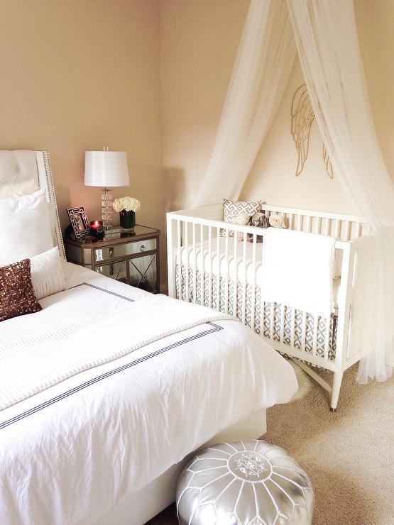 Crib In Master Bedroom Transitional Bedroom