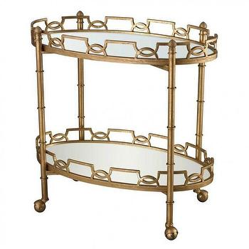 Agatha Gold Two Tier Tray