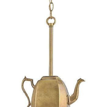 Earl Grey Pendant by Currey and Company