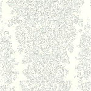 Schumacher Lace Cirrus Wallpaper