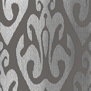 Schumacher Tokat Graphite Wallpaper
