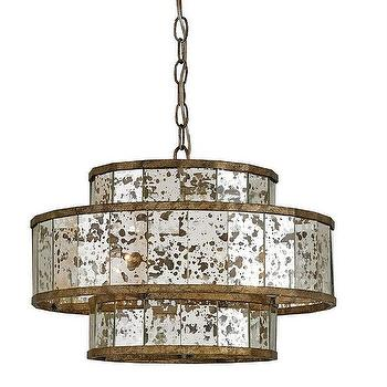 Small Fantine Chandelier by Currey and Company
