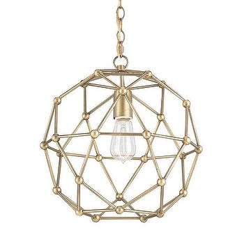 Small Percy Chandelier by Currey and Company