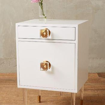 Lacquered Regency Nightstand
