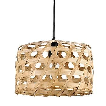 Willowbrush Pendant by Currey and Company