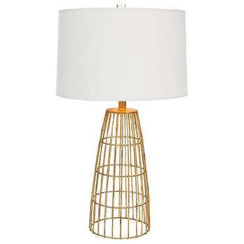 Aidan Gray Lighting Dinard Gold Table Lamp