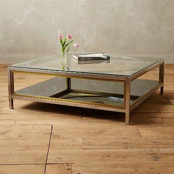 Enclosed Circlet Coffee Table