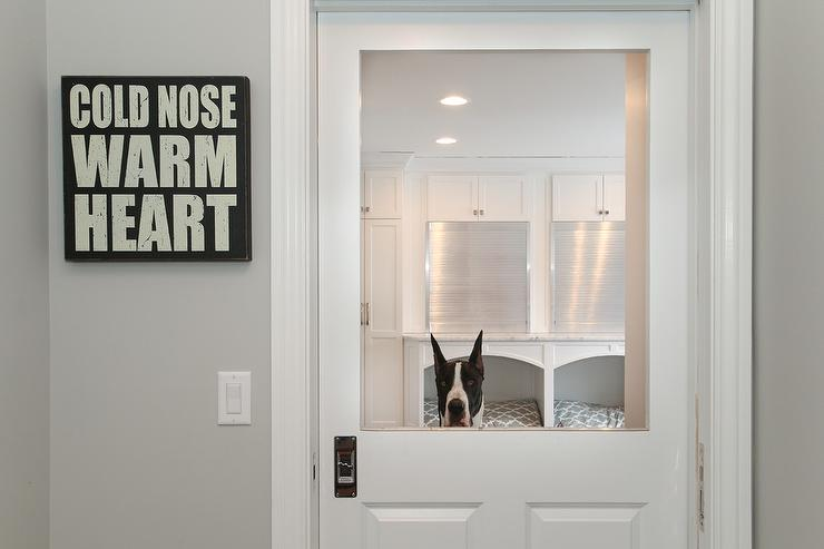 Dog Friendly Mudrooms Contemporary Laundry Room