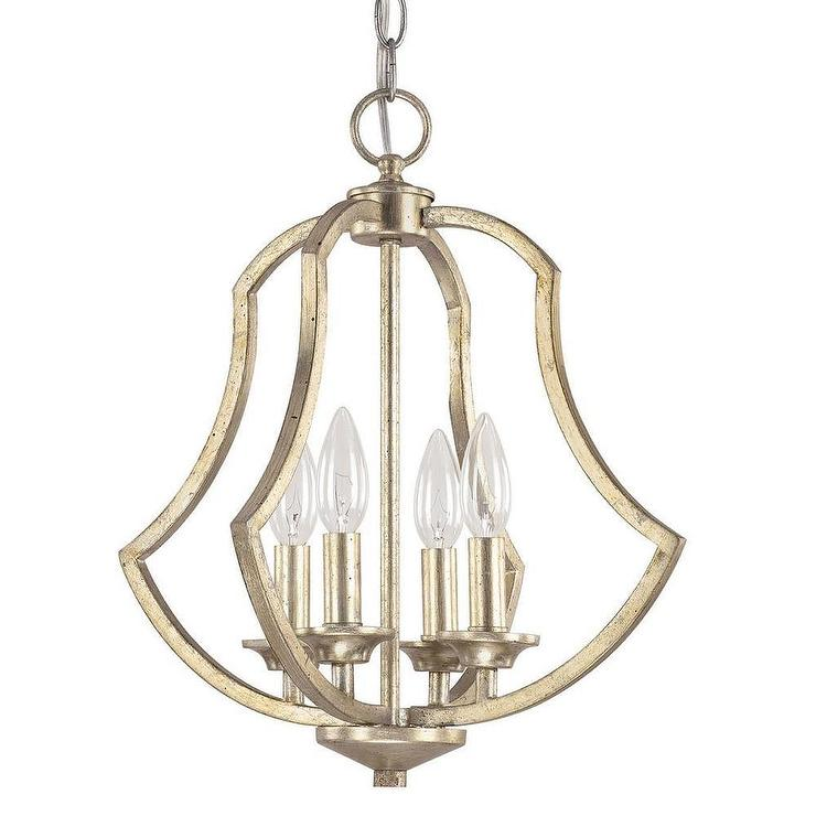 Capital lighting sydney collection winter gold foyer pendant for Unique foyer chandeliers